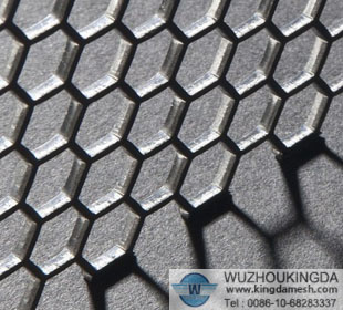Hexagonal Hole Perforated Metal Sheet Hexagonal Hole