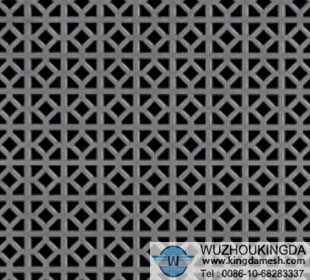 Decorative Perforated Metal Screen Decorative Perforated