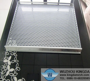 Perforated Stainless Steel Tray Perforated Stainless Steel
