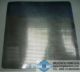 Stainless steel plate with holes stainless steel plate for A shear pleasure pet salon