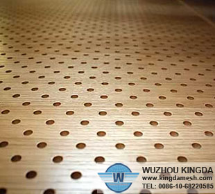 Perforated board panels