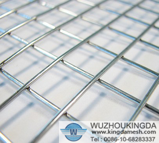 Stainless steel wire mesh weld
