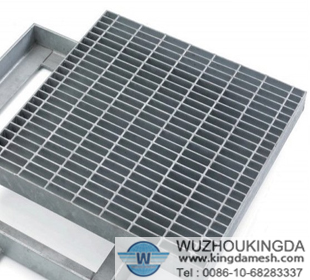 Stainless steel welded grid
