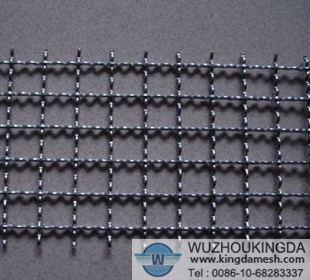 Hot dipped galvanized crimped mesh