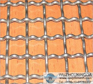 Low Carbon Steel Crimped mesh