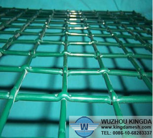 PVC coated crimped wire netting