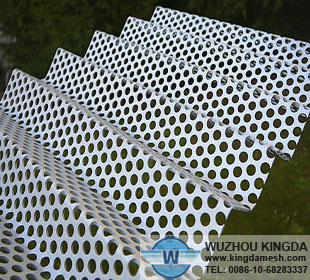 Perforated Corrugated Metal Panels Perforated Corrugated