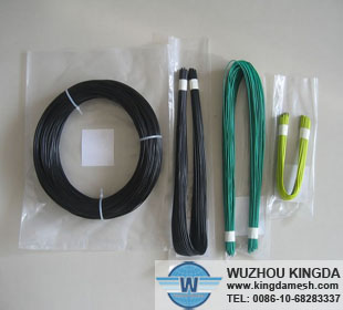 PVC coated coil wire