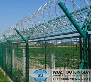 Material of Concertina wire be used at high security areas