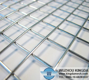 Stainless welded wire mesh panel