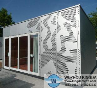 decorative perforated metal panels - Decorative Metal Panels