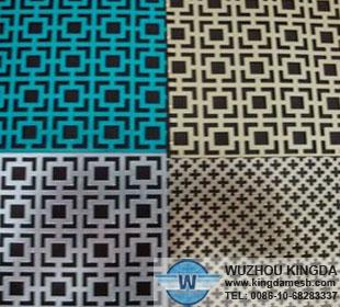 Decorative aluminum sheet panels decorative aluminum sheet panels manufacturer wuzhou kingda - Decorative wire mesh panels ...