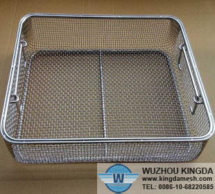 Stainless steel mesh trays