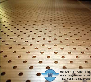 Interior perforated wall panels
