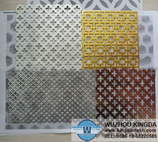Metal decorative panels