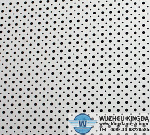 Micromesh perforated sheet