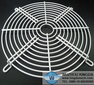 Stainless mesh fan guards