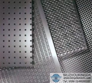 Perforated corrugated metal panels perforated corrugated metal panels manufacturer wuzhou kingda - Decorative wire mesh panels ...
