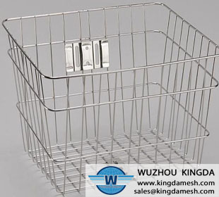 Stainless shopping basket