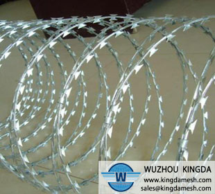 Metal Razor barbed wire