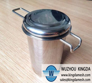 Tea infuser with handle