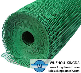 PVC welded mesh for fencing