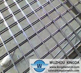 Reinforcing rebar welded wire mesh