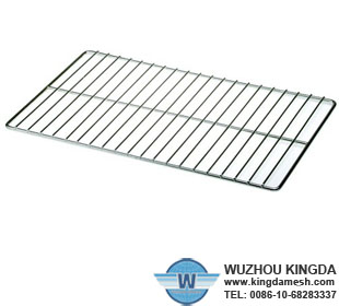 Metal barbecue grid