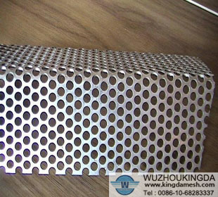 Galvanized punching hole mesh