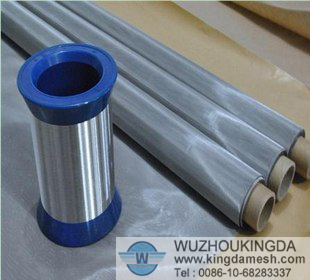 Stainless steel filter fabric cloth