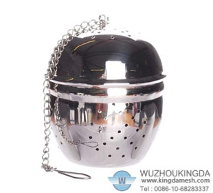Decorative tea ball infuser